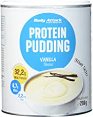 Body Attack Protein Pudding Vanilla, 1er Pack (1 x 300 g)