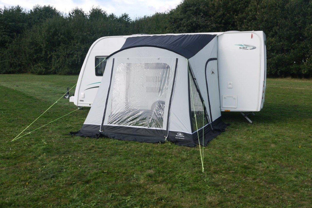 Sunncamp Swift Deluxe 260 Caravan Awning - Grey 3