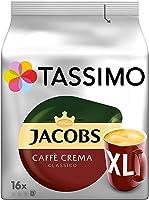 Tassimo Kapseln Jacobs Caffè Crema Classico XL, 80 Kaffeekapseln, 5er Pack, 5 x 16 Getränke