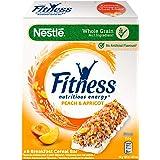 Nestlé Fitness Frutti Gialli Barretta Di Cereali Con Frumento Integrale, Albicocche E Pesche 8 Confezioni Da 6 Pezzi
