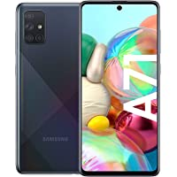 Samsung Galaxy A71 Smartphone Bundle (16,4cm (6,5 Zoll) 128 GB interner Speicher, 8 GB RAM, Dual SIM, Android inkl. 30…