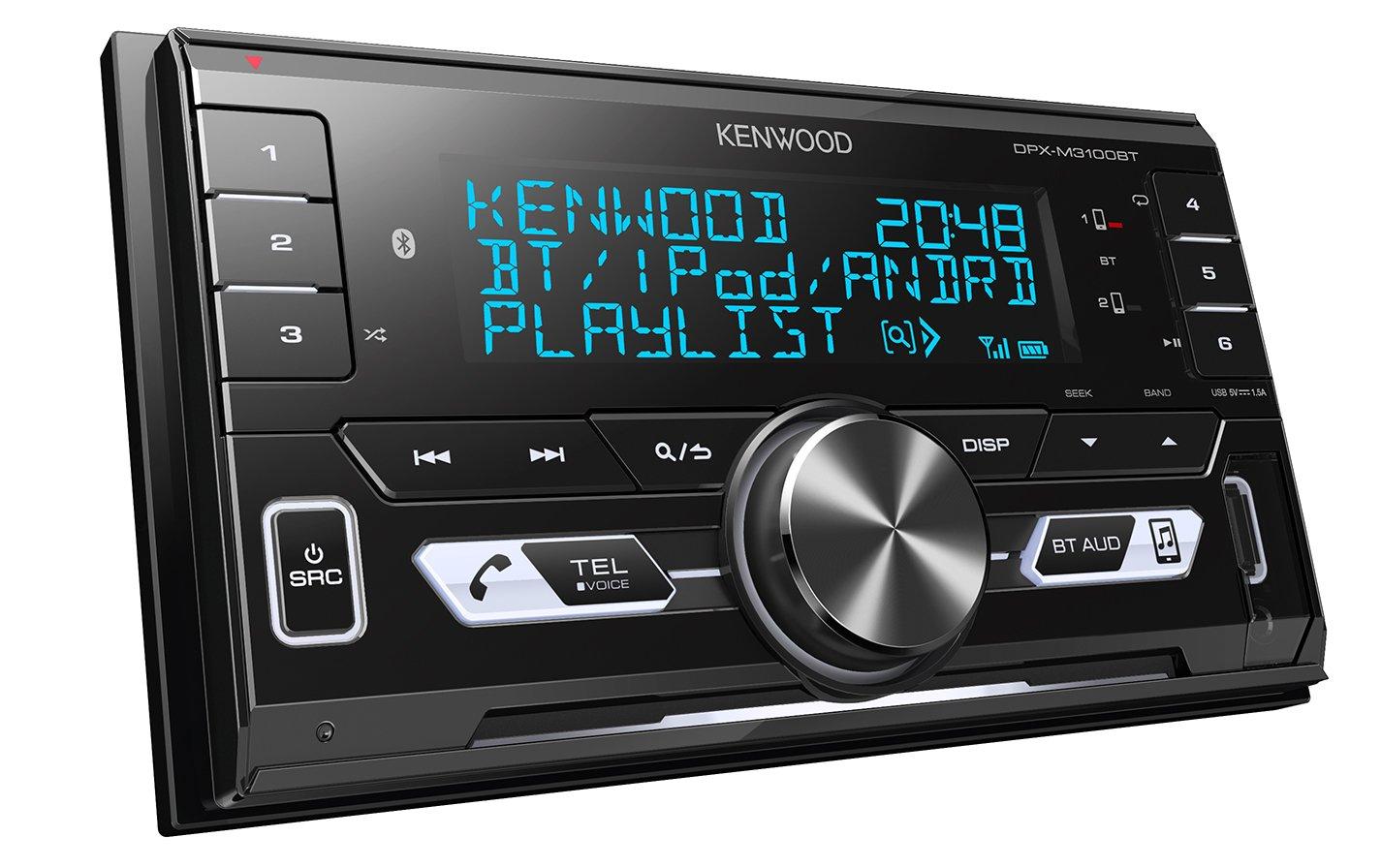 Kenwood-DPX-M3100BT-Doppel-DIN-Receiver