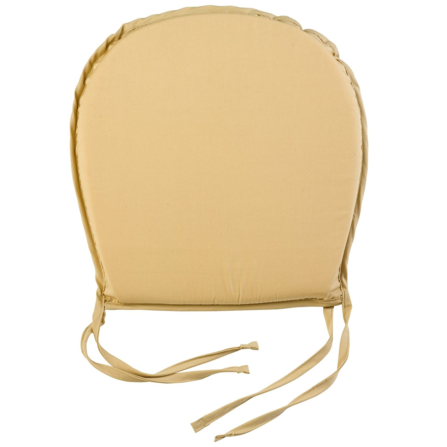 Plain Round Seat Pad Outdoor Garden Dining Kitchen Chair Cushion