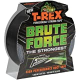 T-Rex 242703 Brute Force Sterkste High Performance Duct Tape, 1,88-Inch x 25-Yard, Zwart