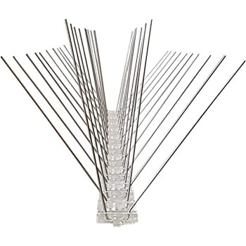 1 Meter 2 Pcs Bird Spike 80 Stainless Steel Spikes Per