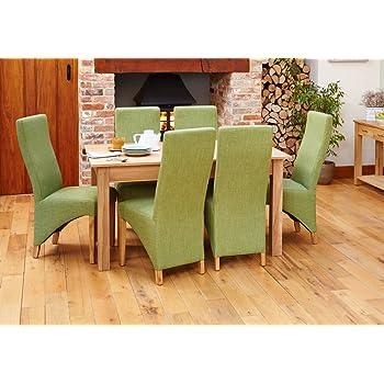 baumhaus mobel oak large dining table 4 6 seater