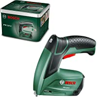 Bosch Graffatrice a batteria PTK 3.6 LI, batteria integrata, 3.6 Volt, 30 colpi/min, in scatola metallica