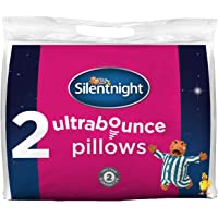 Silentnight Ultrabounce Pillow, White, Pack of 2