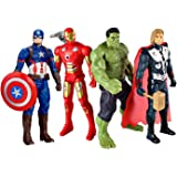 TENDERFEET Avemgers Acengers Super Heros Action Figure Toys Set for Kids (Multicolor1)(4.5 inches)