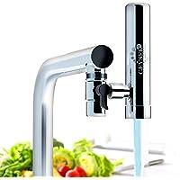 GEYSER EURO - Filtre à eau pour robinet de cuisine, purificateur d'eau avec matériau ultra-absorbant, filtre de robinet…