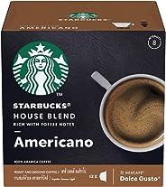 STARBUCKS House Blend by NESCAFÉ Dolce Gusto – Medium Roast (12 Capsules)
