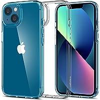 Spigen Ultra Hybrid Kompatibel mit iPhone 13 Hülle [Anti-Yellowing] Dünn transparent hardcase silikon Handyhülle…