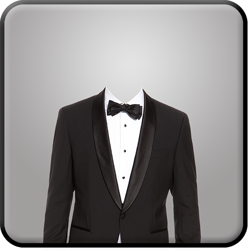 Man Suit Camera Luxury suits (Photo Passport Frame)