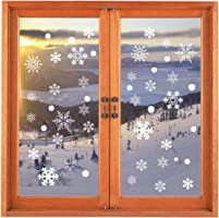Other Christmas Snowflake Window Clings Decal Stickers Winter Wonderland Decorations