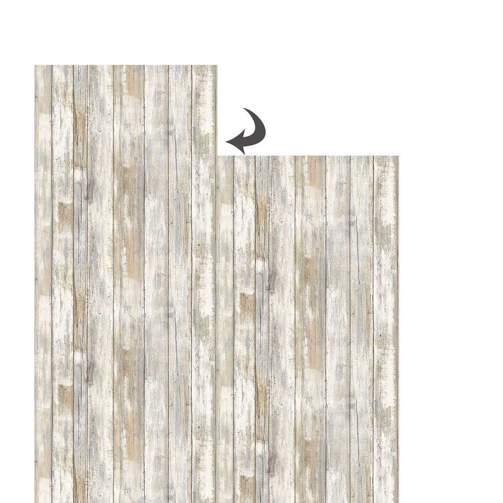 10,05/x 0,53/M multicolor Grandeco a17404/madera patr/ón l/ínea papel pintado