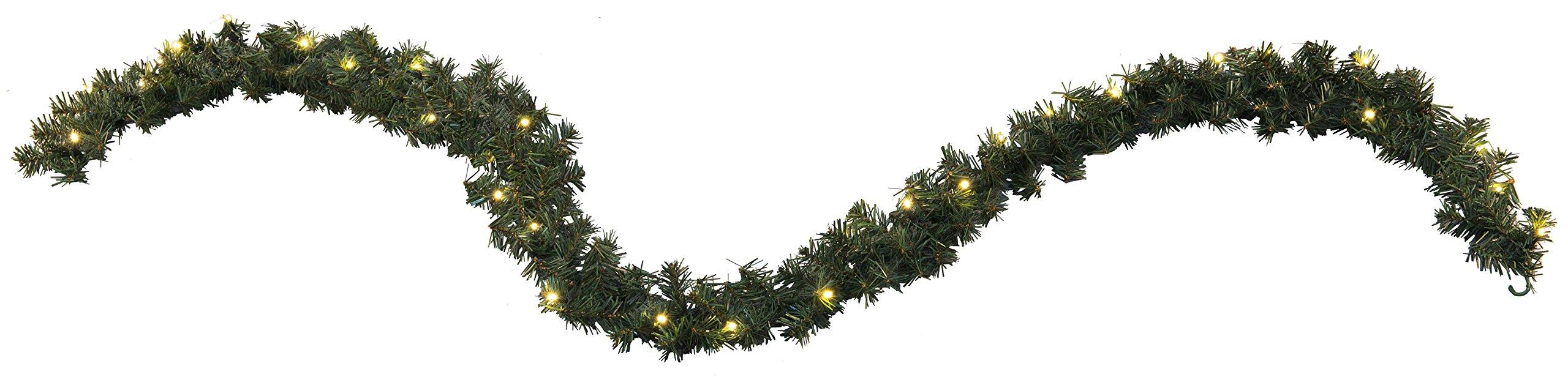 Star-LEDAlaska-Garland-beleuchtet-30-warmwei-LED-outdoor-Trafo-Vierfarb-Karton-270-cm-612-45