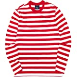 Mens Striped Long Sleeve T Shirt