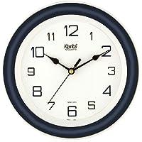 Ajanta AQ-2147 Quartz Glass Abstract Office Clock (214 x 44 x 215 mm, Blue)