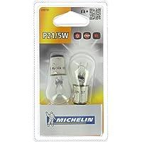 Michelin 008781 2 Ampoules P21 / 5W 12 V-Veilleuses, Feu Stop, Brouillard arrière