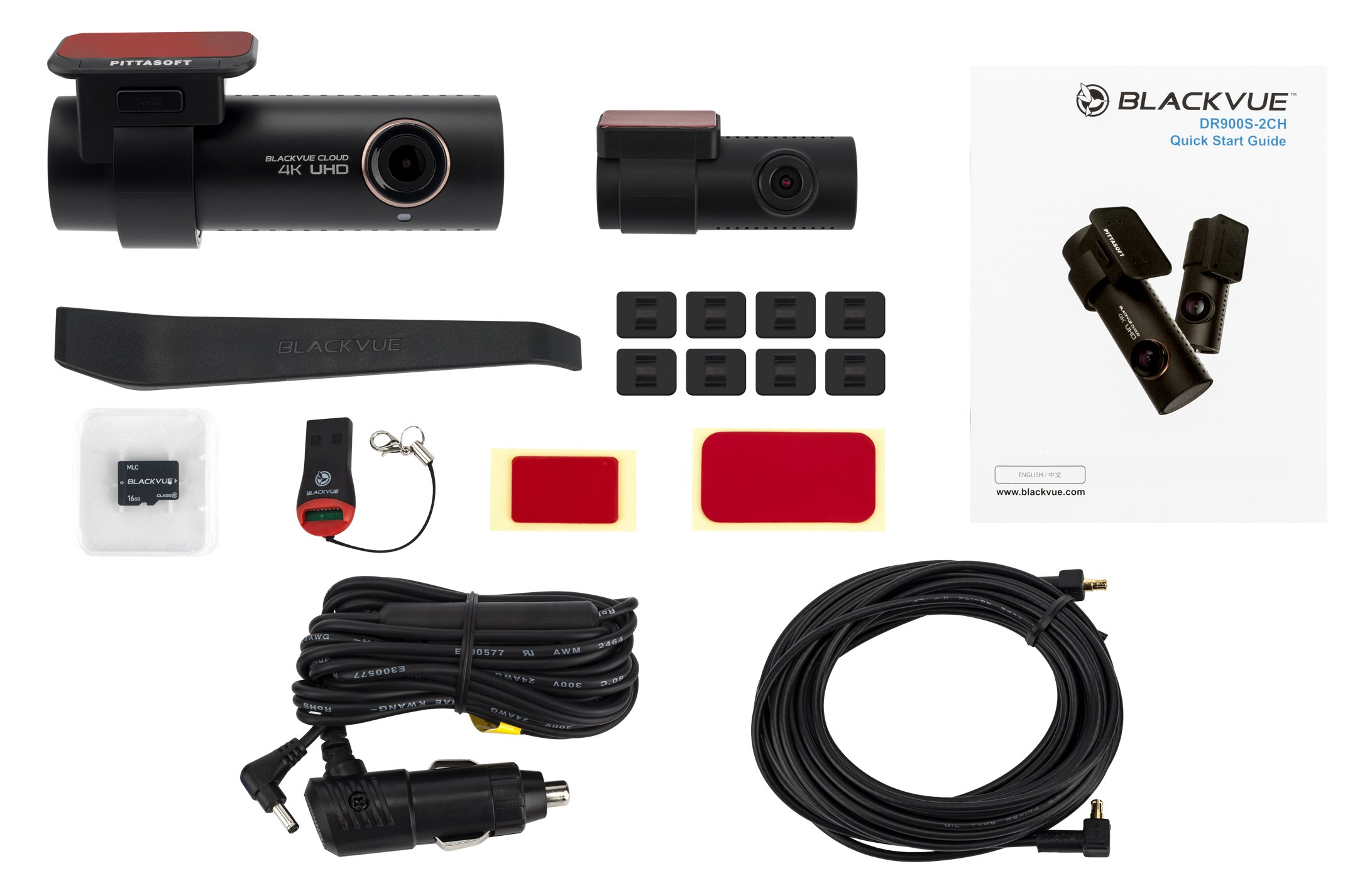 BlackVue-DR900S-2CH-4-K-Ultra-HD-Weitwinkel-Cloud-Verbunden-Dash-Kamera