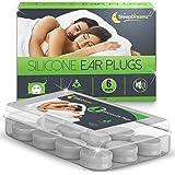 Tapones oidos dormir SleepDreamz® (6 pares) - Tapones oidos ruido, diseñados para proteger contra de los ronquidos y otros so