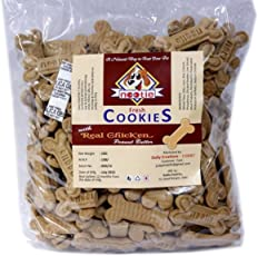 Nootie Freshly Baked Cookie, Real Chicken and Peanut Butter, 1 kg (Pack of 3)