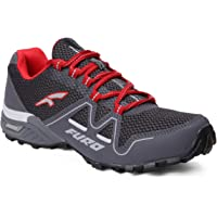 FURO Men's Grey & Red Hiking Shoe H20006 F006