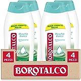 Borotalco, Bagnoschiuma Corpo Fragranza Muschio Bianco, Bagnoschiuma Rinfrescante, Effetto Borotalco sulla Pelle, Ottima per