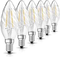 Osram Led Dekor Filaman Mum Sarı Işık 250 Lümen E14 Duy Ampul