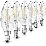 OSRAM LED lamp   Lampvoet: E14   Warm wit   2700 K   2,50 W   helder   LED Retrofit CLASSIC BW [Energie-efficiëntieklasse A++
