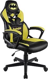 Subsonic Batman Siège Gamer Junior/Chaise de Bureau Licence Officielle DC Comics SA5573-B1