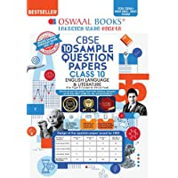 Oswaal CBSE Sample Question Papers Class 10 English Language & Literature Book (For Term I Nov-Dec 2021 Exam)