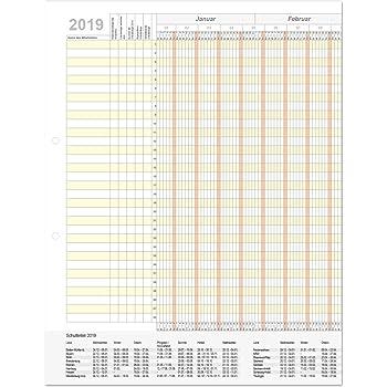 holyplan 2019 personalurlaubsplaner kalender f r 32. Black Bedroom Furniture Sets. Home Design Ideas
