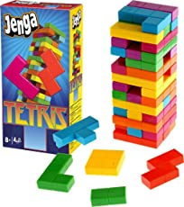Happy GiftMart 2 in 1 Jenga Tetris Game 1+ Players (A New Jinga Game !!) Pull-Stack-Crash.