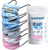 QUARANT 4 Ply Designer Protective Surgical Face Mask with Dual Meltblown - SMMS Layer, BFE & PFE >99%, Disposable Fabric Mask