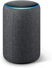 Das neue Echo Plus (2. Gen.), mit Premiumklang und integriertem Smart Home-Hub, Anthrazit Stoff