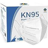 Lexuslance - 50 Mascherine KN95 Autorizzate INAIL Adulti BFE ≥97%. Mascherine KN95 sigillate in comode bustine apri e chiudi