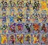 Lego Nexo Knights - Trading Card Game alle 24 Special Holo Karten als Set - deutsche Ausgabe