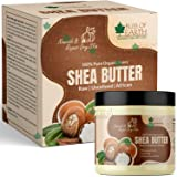 Bliss of Earth 100% Pure Organic Ivory Shea Butter | Raw | Unrefined | African | 100GM | Great For Face, Skin, Body, Lips, DI