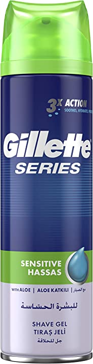 Gillette Series Sensitive Shaving Gel 200 ml