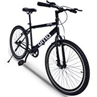 Omobikes 1.0 Light weight Hybrid Cycle with Alloy Rims, Anti Rust Frame