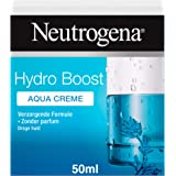 Neutrogena Hydro Boost Aqua Cream, gezichtscrème, gezichtsverzorging, droge huid, olievrij, parfumvrij, 50 ml