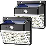 Lampada SOLARE parapetto Rohrø 19-25mm LED bianchi luce solare luce di ancoraggio