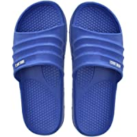 Childrens Unisex EVA Sliders Slip On Shoes Slippers Flip Flops Sandals Beach Footwear Girls Boys