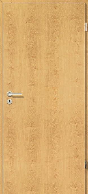 Baumarkt türen  CPL Zimmertür Tür Türen Innentüren Ahorn Rustikal RSP DIN Rechts ...