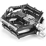 Lycoon Fietspedalen, nylon pedalen, MTB-pedalen, trekkingpedalen, 3 afgedichte lagers, met asdiameter 9/16 inch