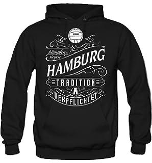 "Herren Hoody Kapuzenpullover ""Hamburg"" Hamburger SV HSV Gr S"