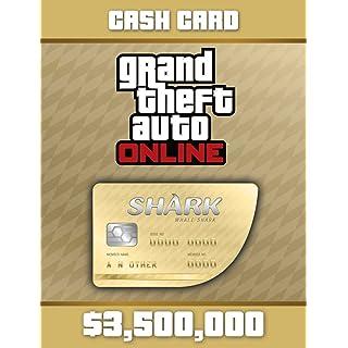 Grand Theft Auto Online | GTA V Whale Shark Cash Card | 3,500,000 GTA-Dollars
