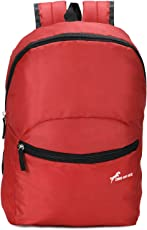 Chris & Kate Red-Black Small Tuition Bag | Casual Backpack |College Bag |Multi-Purpose Bag(20 litres)(CKB_197KF)