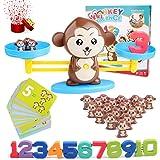 juegos matematicos para niños, Equilibrar Juego De Matemáticas 65 Piezas Juguete De Aprendizaje Aprender A Contar Números Y M